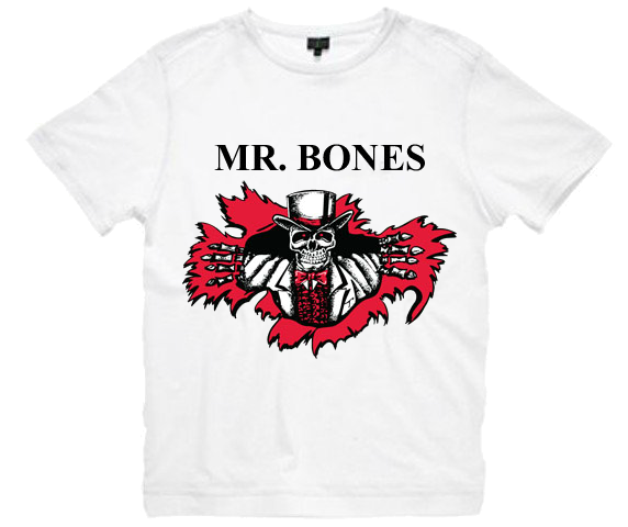 Classic White Mr. Bones T-Shirt