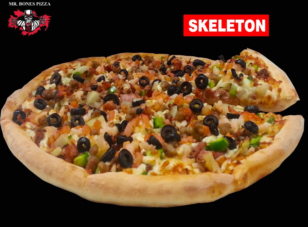 The Skeleton Pizza